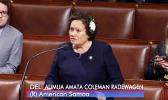 Rep. Amata offering an amendment to the Veterans Child Care Bill