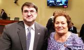Congresswoman Amata pictured with VA Secretary Wilkie