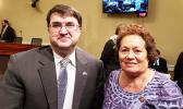 Congresswoman Amata with VA Secretary Robert Wilki