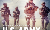 Poster honoring U.S. Army