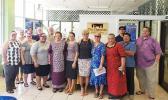 Congresswoman Amata with American Samoa Chamber of Commerce