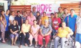 Some members of the American Samoa Cancer Coalition in a 2017 photo