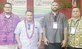 AS-EPA deputy director William Sili; Finance and Special Projects Manager, Victor Tuiasosopo; Administration Manager, Neil Pilcher; and IT Manager, Edgar Apulu