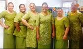 WIC office staff wishing American Samoa a Merry Christmas