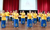 New members of the ASCC chapter of the Phi Theta Kappa