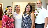 (l-r) attorney and president of the American Samoa Bar Association Lornalei Meredith, community members So'onafai Seloti and Alvina Savali, and Licensed Clinical Social Worker Adney Reid