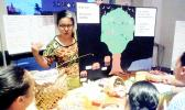 Mrs. Tasia Talamoni advises participating teachers on methods of integrating the Samoan language and culture into their classroom methods