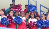 The AYFS cheerleading squad