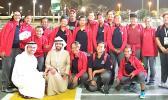 American Samoa Special Olymipians in Abu Dhabi, Arab Emirates.