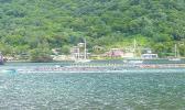 Fautasi race practice in Pago Pago harbor