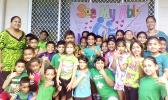 Aua Elementary School students