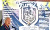 Pago Youth volleyball banners