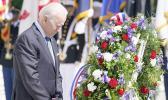 President Biden lays wreath at Arlington National Cemetery
