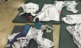 A photo provided by U.S. Customs and Border Protection shows the interior of a CBP facility in McAllen, Texas, on Sunday. Immigration officials have separated thousands of families who crossed the border illegally. Reporters taken on a tour of the facility were not allowed by agents to interview any of the detainees or take photos, the AP reported. U.S. Customs and Border Protection's Rio Grande Valley Sector via AP