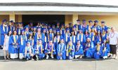 Cougars and Crusaders of Faasao Marist High School Class of 2017.  [photo:EM]