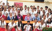 Participants in the 9th Annual Close Up Youth Summit in American Samoa.