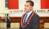 AFAMASAGA RICO TUPAI: The Minister of Communications and Information Technology. (Photo: Samoa Observer)