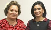 CMS Administrator Seema Verma with Congresswoman Amata