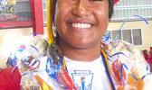 Fagaitua High School class of 2018 Co Salutatorian, Sauiluma Afusia [photo: Leua Aiono Frost]
