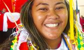 Fagaitua High School class of 2018 Co Salutatorian, Tiara Ului So'otaga [photo: Leua Aiono Frost]