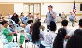 Jon Lee speaking during the 9th MSC forum