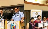 Rotary Club of Pago Pago held their 1017-18 4-Way-Test Dinner for outstanding seniors from the 11 high schools across Tutuila and Manu'a this past Saturday night, Feb. 3, 2018,    [courtesy photo]