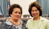 Congresswoman Amata and Secretary Chao