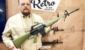 """At the 2018 SHOT Show in Las Vegas, Roy Hill, Brownell's Public Relations specialist understood when I told him his company's newly announced """"Retro"""" models would bring tears to the eyes of American Samoa's Vietnam Era veterans.  [Photo: Barry Markowitz]"""