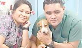 ASG Veterinary Clinic volunteer AND DOA employee with a dog that needs treatment.