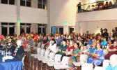 Members of the audience at the recent candidates forum hosted by the American Samoa Chamber of Commerce