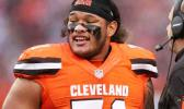 Cleveland Browns defensive tackle Danny Shelton (71) against the San Francisco 49ers during the second half of an NFL football game, Sunday, Dec. 13, 2015, in Cleveland. (AP Photo/Ron Schwane)