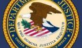 U.S. Dept. of Justice Alaska logo