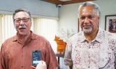 Doug Domenech, left, Department of the Interior assistant secretary for insular and international affairs, and Office of Insular Affairs Director Nik Pula Interior provides $1.3 M to protect coral reefs in Insular Areas WASHINGTON – Doug Domenech, U.S. Department of the Interior Assistant Secretary, Insular and International Affairs, last week approved $1,345,256 in fiscal year 2018 grant funding under the Coral Reef and Natural Resources initiative to the U.S. territories and the freely associated states.