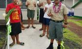 Boy Scouts from Troop 292 Pava'ia'i