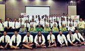 59 Samoan sailors with acting PM Papalii Niko Lee Hang [Photo: RNZI/Autagavaia Tipi Autagavaia]