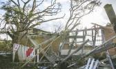 Cyclone Gita caused widespread damage in Tonga. [Photo: RNZ / Richard Tindiller]