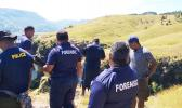 Police investigators in the Nausori Highlands