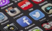 Logos of various social media sites