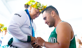 Emilene Taulu being proposed to by Tupuga Amo