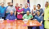 Photo of Gov. Lolo and the Fagatogo chiefs.