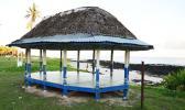 Fale near the Turtle and Shark overlook in Vaitogi village. [Tripmondo.com]