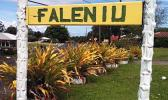 Faleniu Village sign