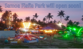 Photo of various rides at Fiafia Park