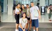 American Samoa's delegation to the U.N. Enviro Program Conference