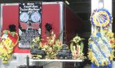Memorial set up at the DPS firestation in Fagatogo