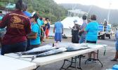 Fish caught during the 4th Annual Fagota Mo Taeao Open Fishing Tournament