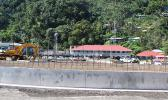 This August Samoa News file photo shows sitework at the location of the new fono building under construction.