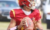 Tafuna Warriors quarterback Oakland Salave'a