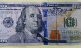 Front of a fake $100-bill circulating in American Samoa