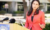 Hawaii Congresswoman Tulsi Gabbard speaking